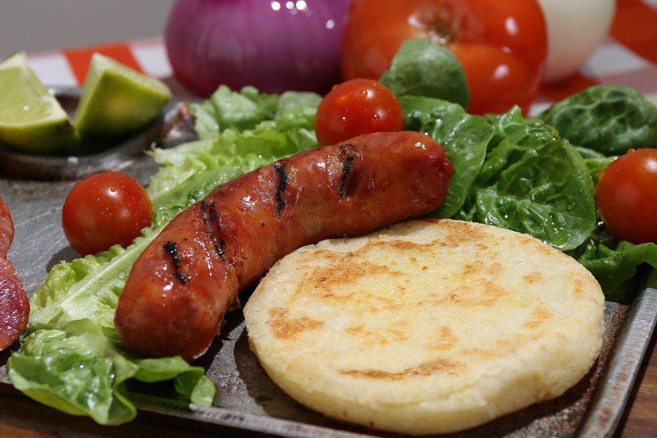 Chorizo a la parrilla gegrillte Paprikawurst
