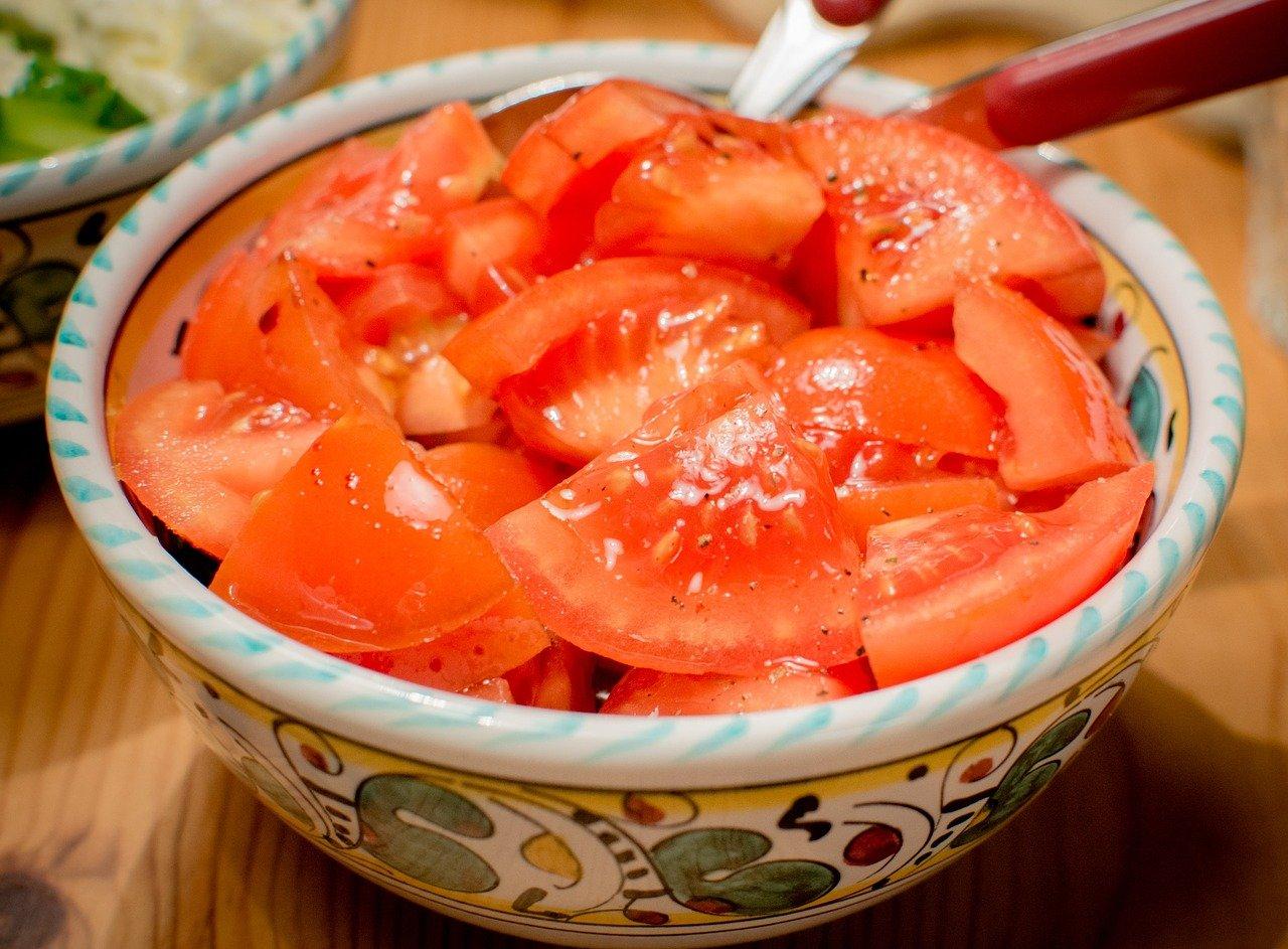 Ensalada tomate - spanischer Tomatensalat