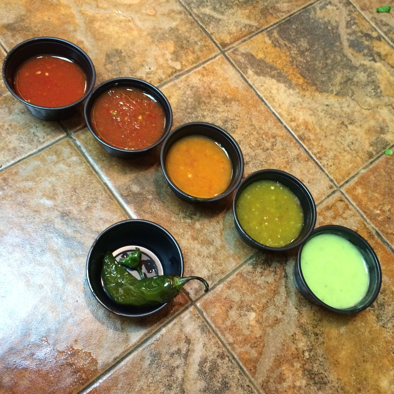 Die leckeren las salsas aus Spanien