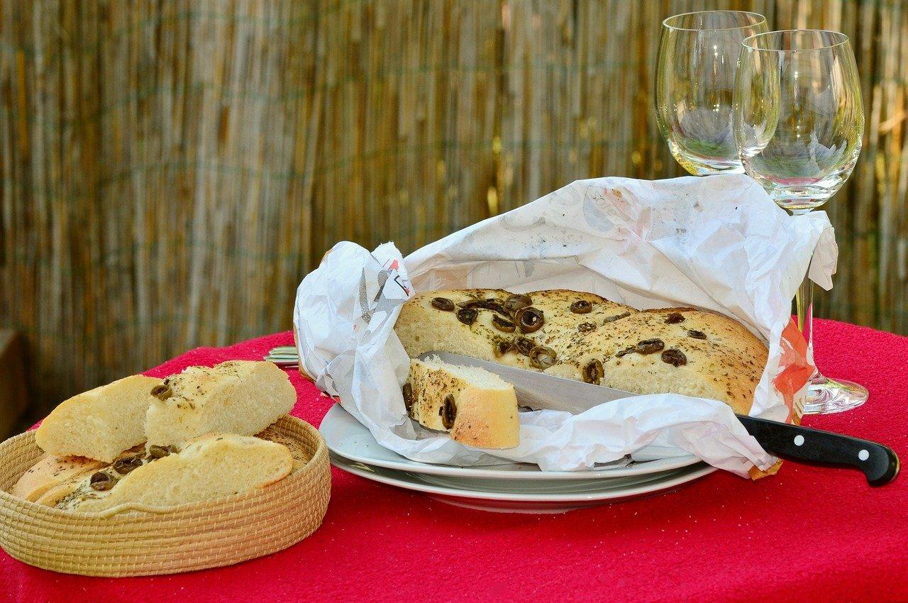 Pan de aceitunas - Olivenbrot