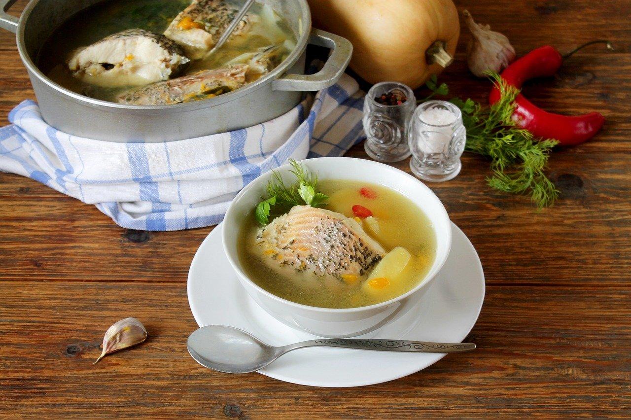 Sopa de pescado - Fischsuppe